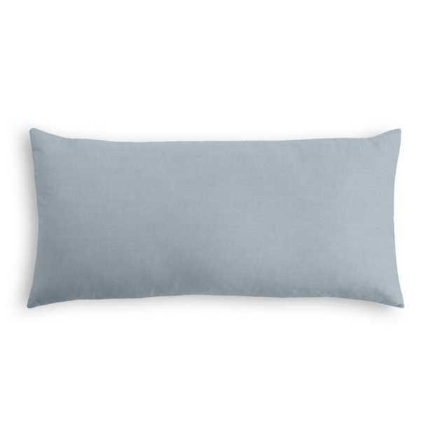 Lumbar Pillow  Classic Linen - Dusk - Loom Decor