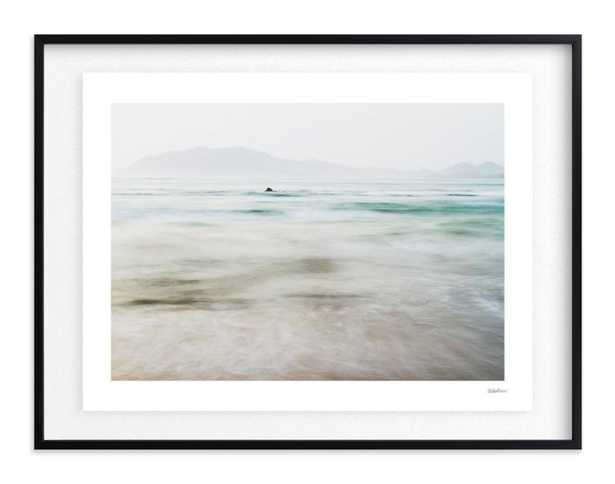 """the pacific by Kaitlin Rebesco - Rich Black Wood Frame; Float Mounted w/ Artist Signature - 40""""x30"""" - Minted"""