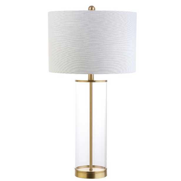 "Cothran Glass 29.25"" Table Lamp - Wayfair"