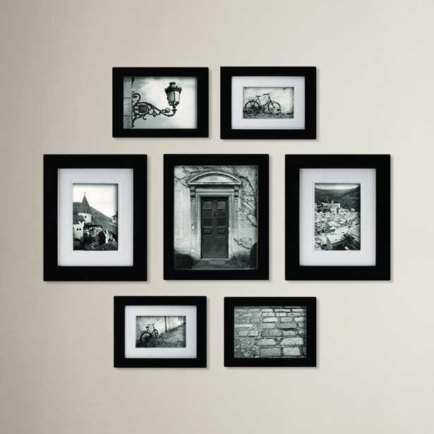 Morell Blackstone 7 Piece Gallery Snapshot Picture Frame Set - Wayfair