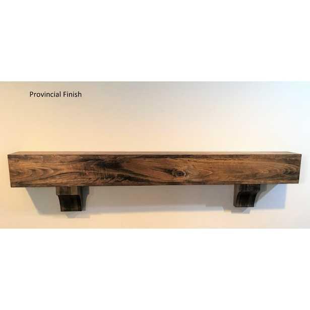 Beam Fireplace Mantel Shelf - Wayfair