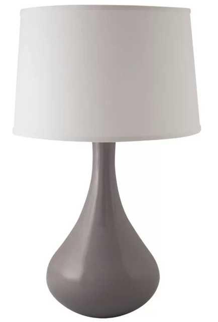 "Erardo Genie 27"" Table Lamp - Swanky Gray - Wayfair"