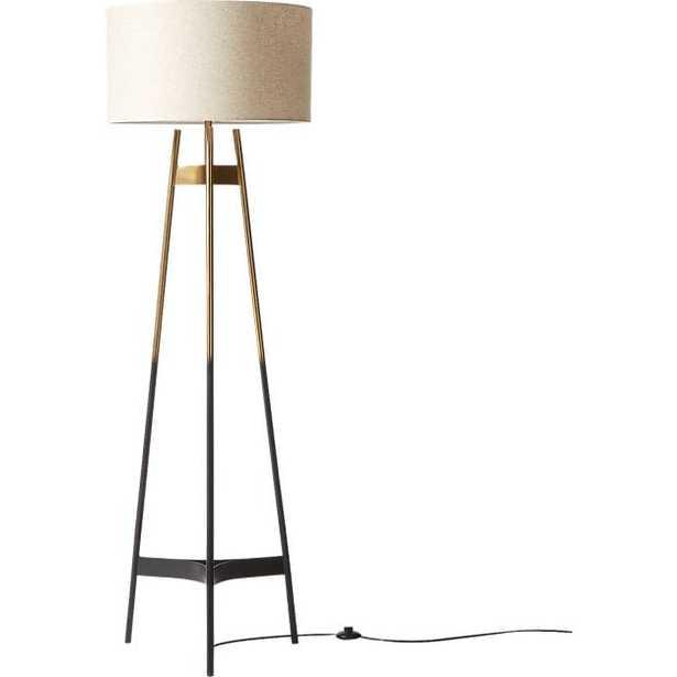 Brace Ombre Floor Lamp - CB2