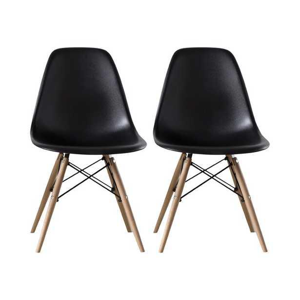 Avers Dining Chair (Set of 2) - Wayfair