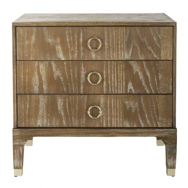 LORNA 3 DRAWER CONTEMPORARY NIGHT STAND - Arlo Home