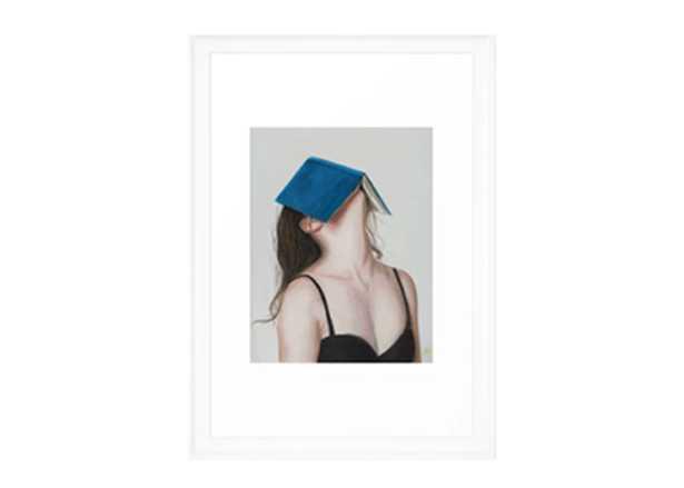 Books Framed Art Print - 15x21 - Society6