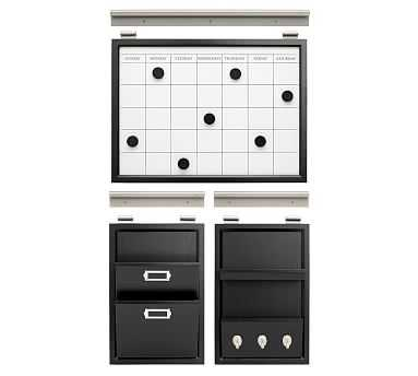 Daily System - Essential Office Set, Black - Pottery Barn