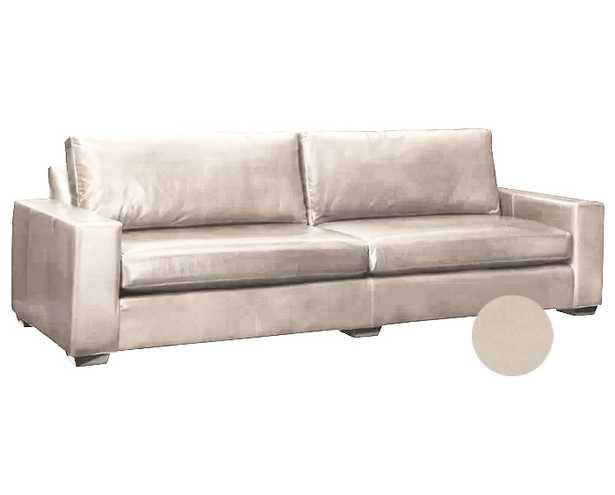 Leathercraft Maxine Sofa Upholstery: Timeless Basic Beige - Perigold
