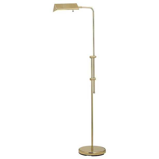 Brass Finish Pharmacy Floor Lamp - Lamps Plus