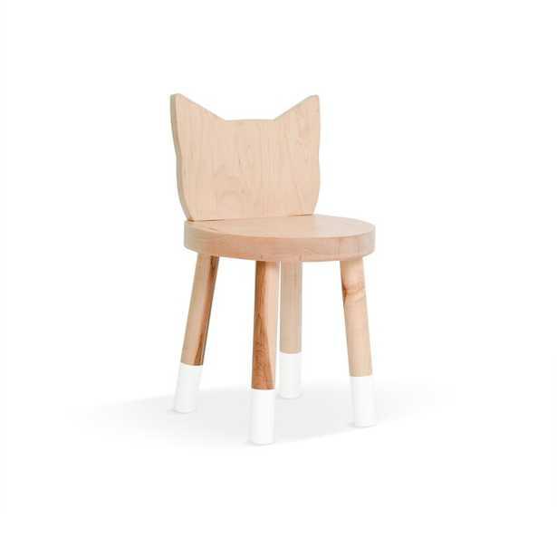 White Kitty Kids Desk Chair - Wayfair