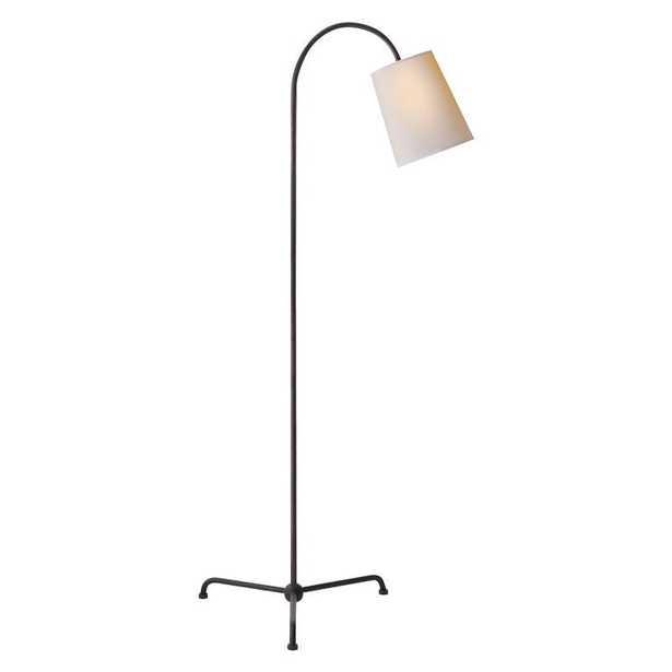 MIA FLOOR LAMP - AGED IRON - McGee & Co.