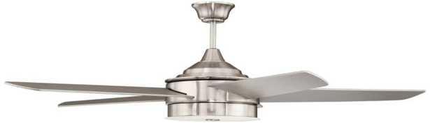 "12"" Brushed Nickel Ceiling Fan Downrod - Lamps Plus"