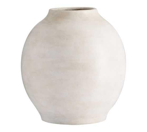 Quinn Ceramic Vase -  Medium - Pottery Barn