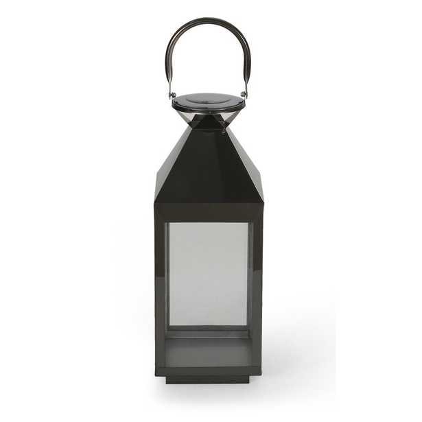 Jessica Modern Stainless Steel Outdoor Lantern - Wayfair