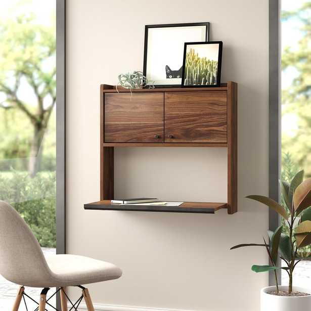 Posner Wall Floating Desk - Wayfair