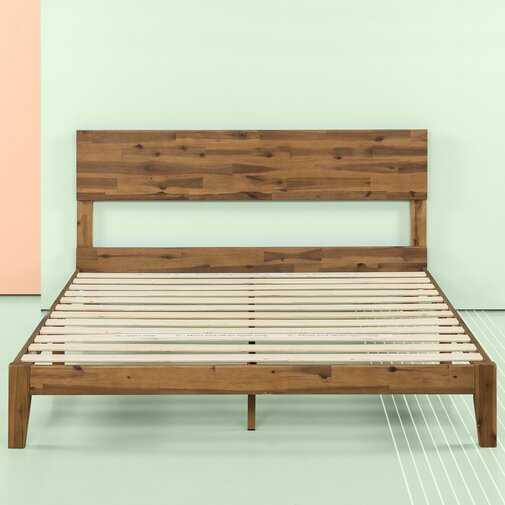 Tara Platform Bed Queen - Wayfair