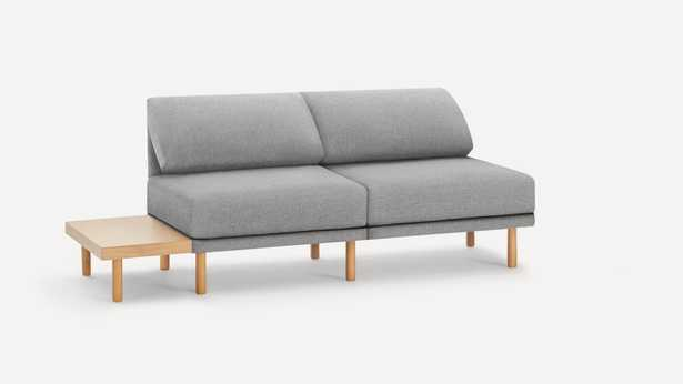 Range 2-Piece Open Sofa with Table and Ottoman - Burrow