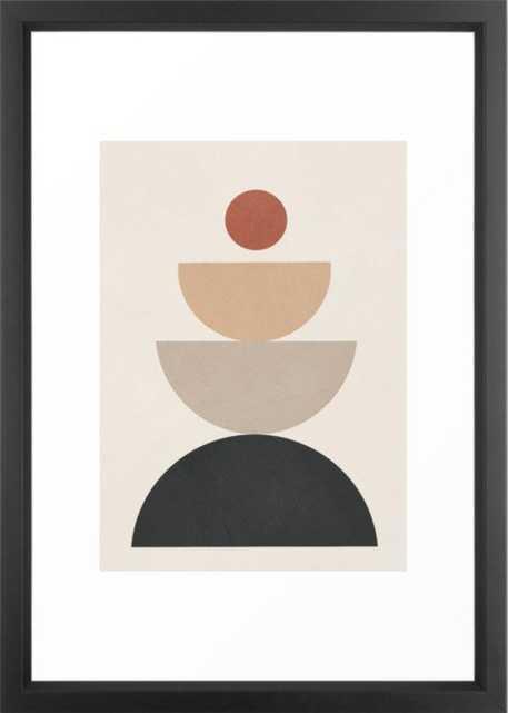 Geometric Modern Art 31 Framed Art Print - Society6