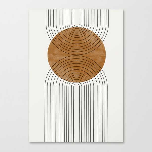 Abstract Flow Canvas Print - Society6