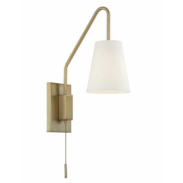 Keith 1-Light Plug-In Wallchiere - AllModern