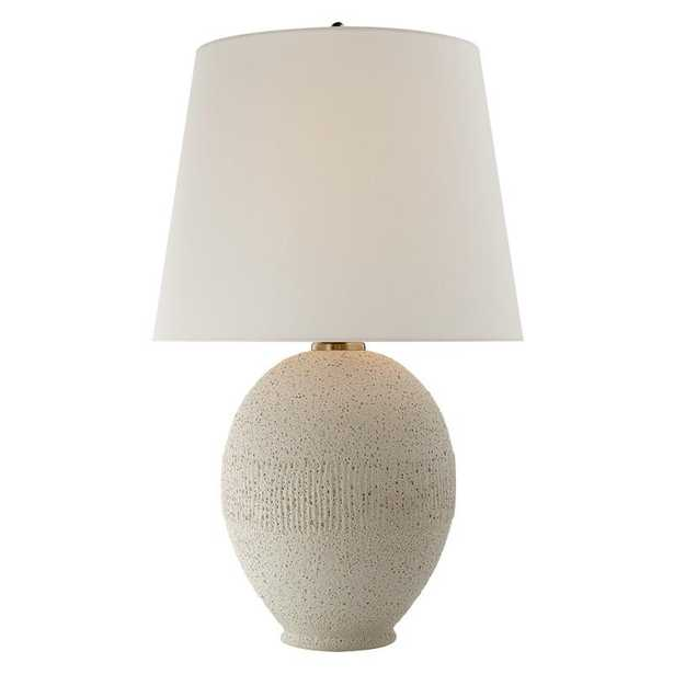 TOULON TABLE LAMP - VOLCANIC IVORY - McGee & Co.