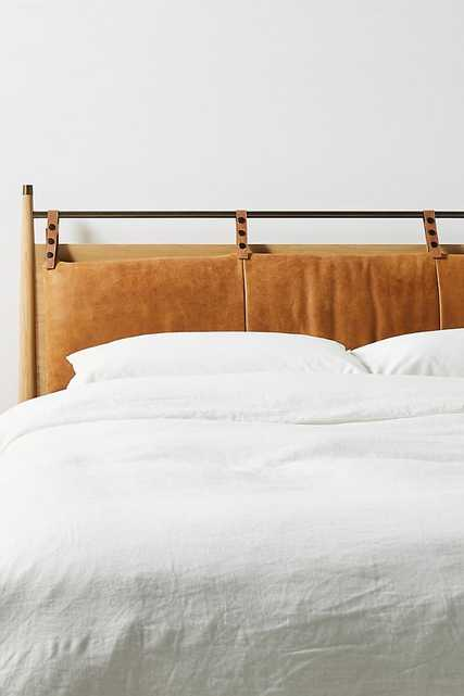 Hemming Winchester Leather Headboard Cushion - Anthropologie