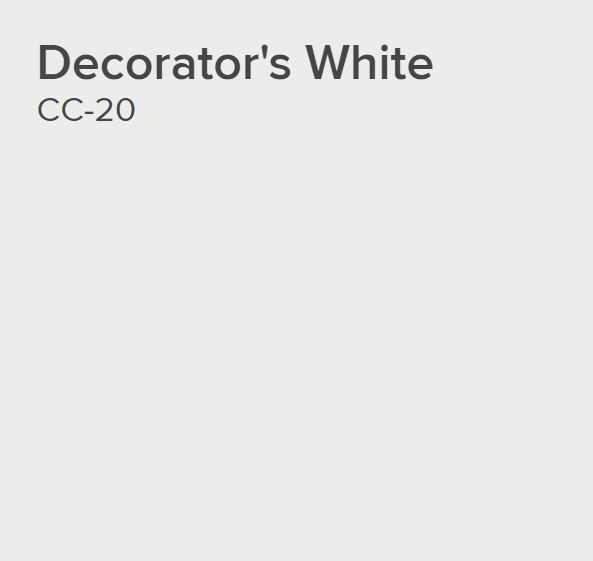 Ben® Waterborne Interior Paint - Eggshell Gallon Decorator's White CC-20 - Benjamin Moore