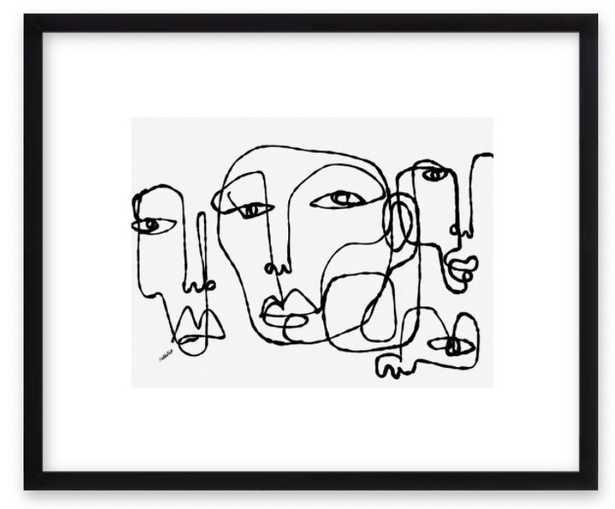"united by Shira Barzilay - ""Koketit"" for Artfully Walls - Artfully Walls"