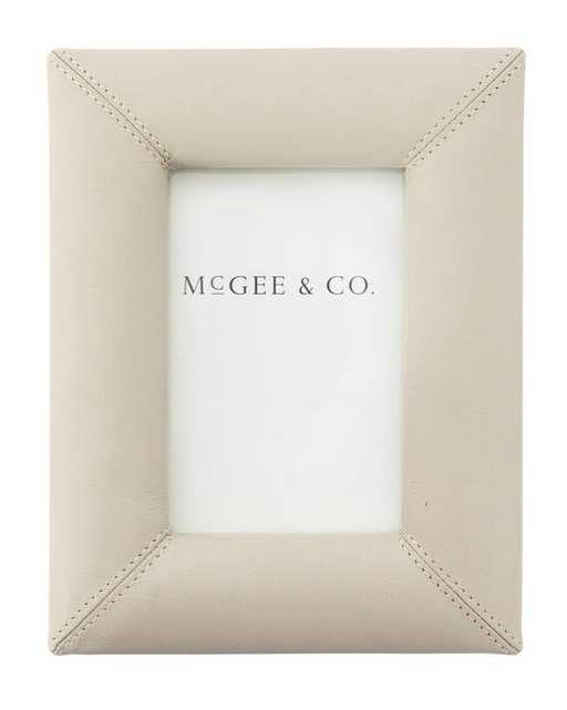Crafted Leather & Stitch Frame - Small - McGee & Co.