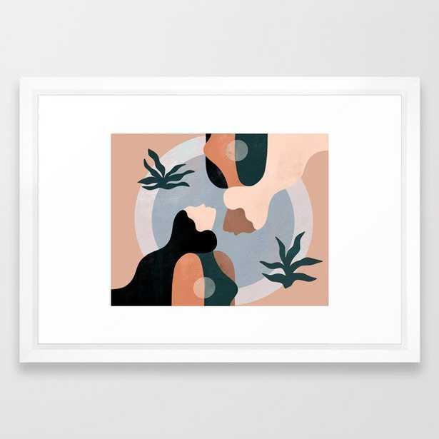 Gemini Framed Art Print - Society6