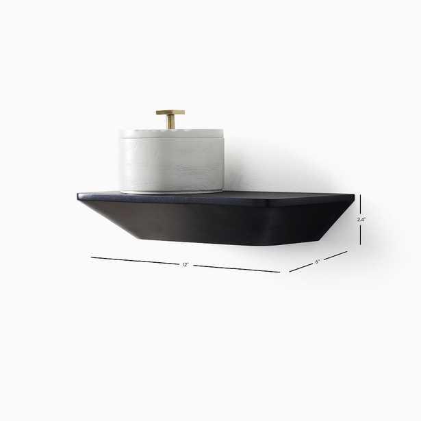 Slim Floating Collection Acorn 1' Shelf - West Elm