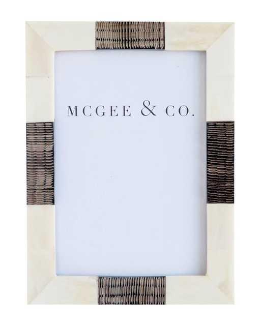 BARRED HORN & BONE FRAME - McGee & Co.