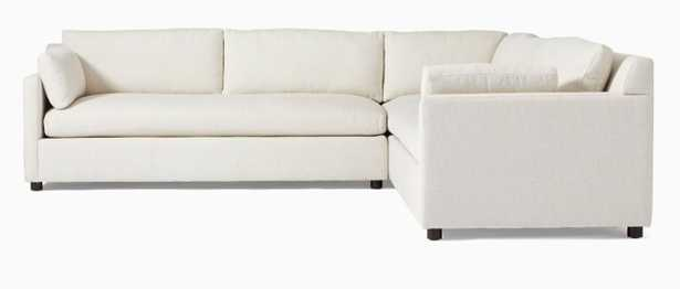 Marin 3-Piece L-Shaped Sectional - West Elm