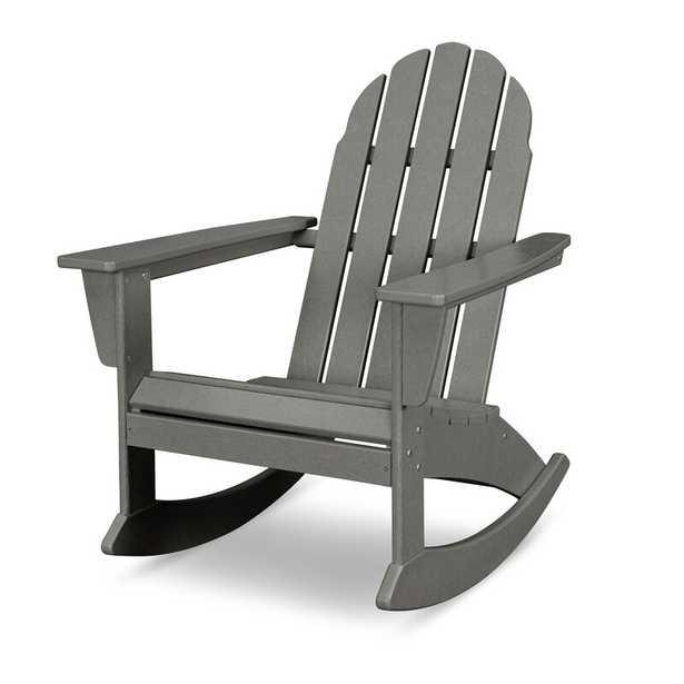 Vineyard Plastic Rocking Adirondack Chair - Wayfair