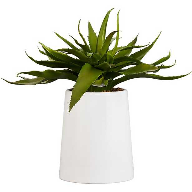 """POTTED FAUX ALOE 9"""" - CB2"""