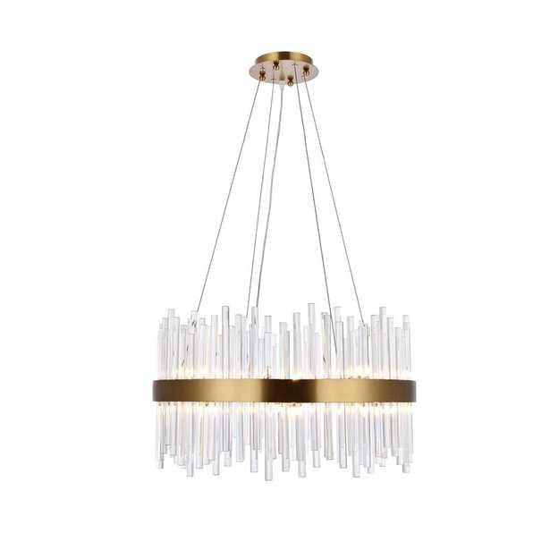 Perlo 16-Light Crystal Chandelier - Wayfair