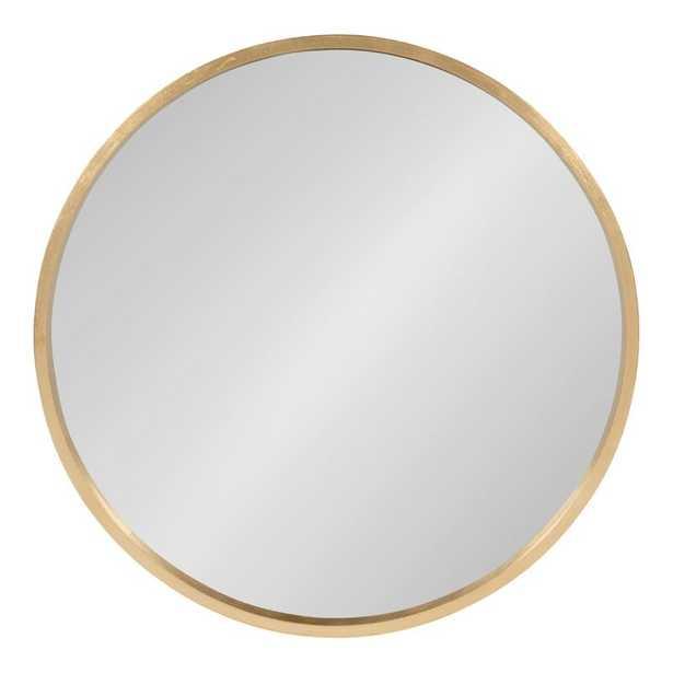 Swagger Modern & Contemporary Accent Mirror-gold - Wayfair