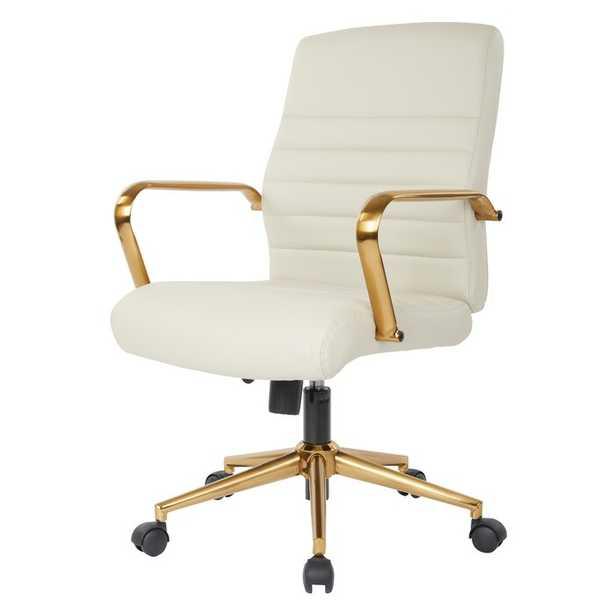 Katrina Task Chair, Cream - Wayfair