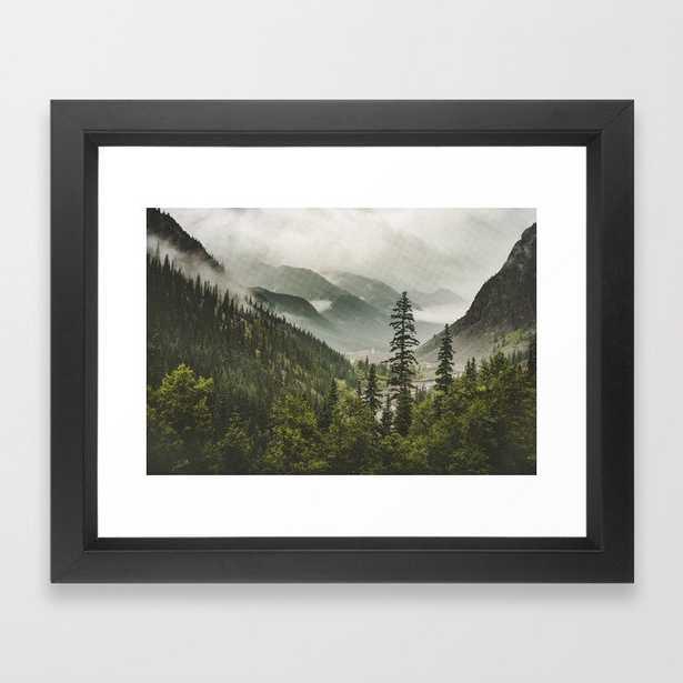Valley of Forever Framed Art Print - Society6
