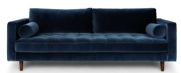 "Sven 88"" Sofa - Cascadia Blue - Article"