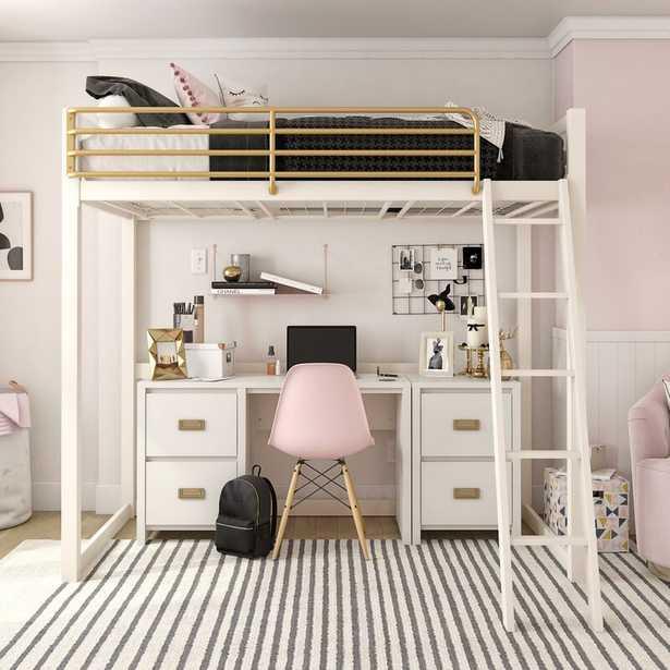 Monarch Hill Haven Metal Twin Loft Bed - Wayfair