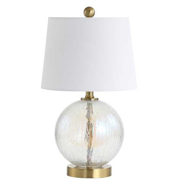 Riglan Table Lamp - Clear/Gold - Arlo Home - Arlo Home