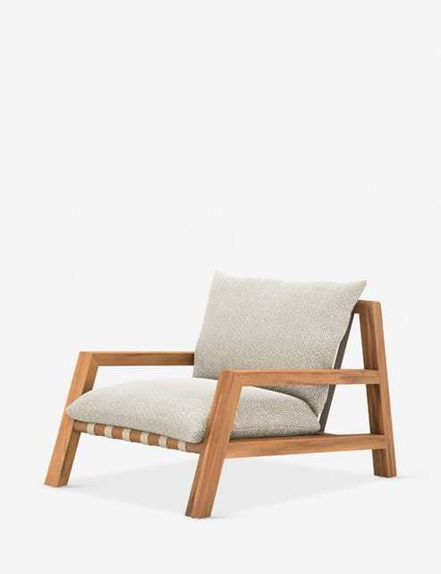 Isla Indoor / Outdoor Accent Chair - Lulu and Georgia