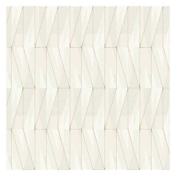 On An Angle Sure Strip Wallpaper - York Wallcoverings