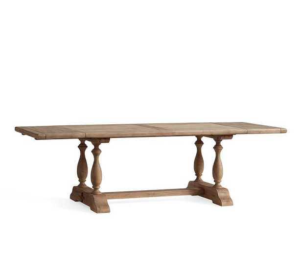 PARKMORE RECLAIMED WOOD EXTENDING DINING TABLE - Pottery Barn