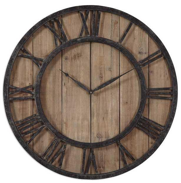 POWELL WALL CLOCK - Hudsonhill Foundry