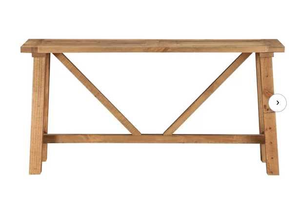 Stambaugh Reclaimed Wood Console Table - Wayfair