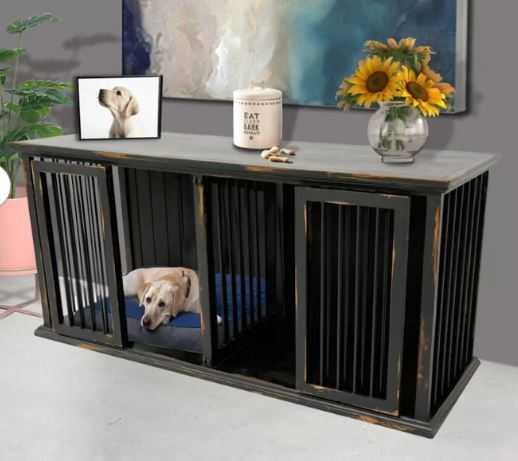 Grizzle Plus Wide Pet Crate - Wayfair