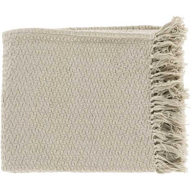 Polaris Cotton Throw Blanket - Wayfair