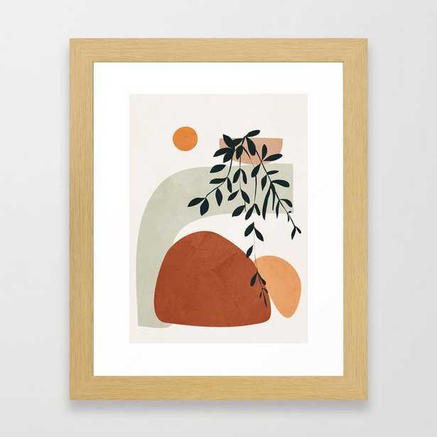 Soft Shapes I Framed Art Print - Society6